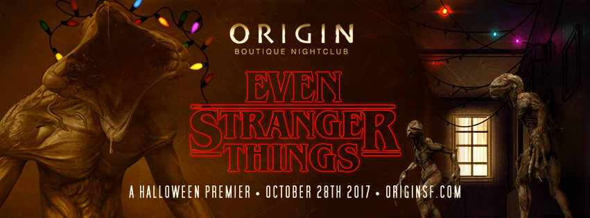 halloween 2017 san francisco nightclub nightclub best halloween party in sf vip bottle service stranger things halloween even stranger things
